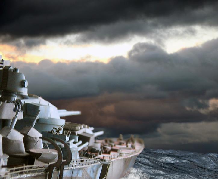 Battleship Roma by rummsfeld