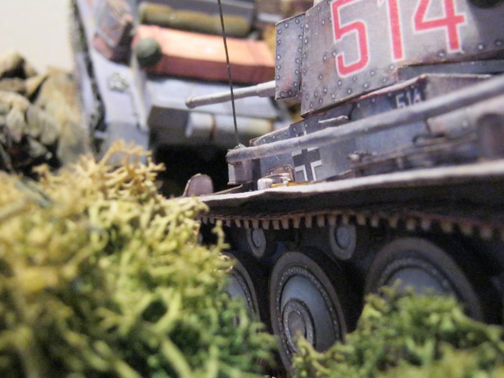 Pz 38 (t) advancing by rummsfeld