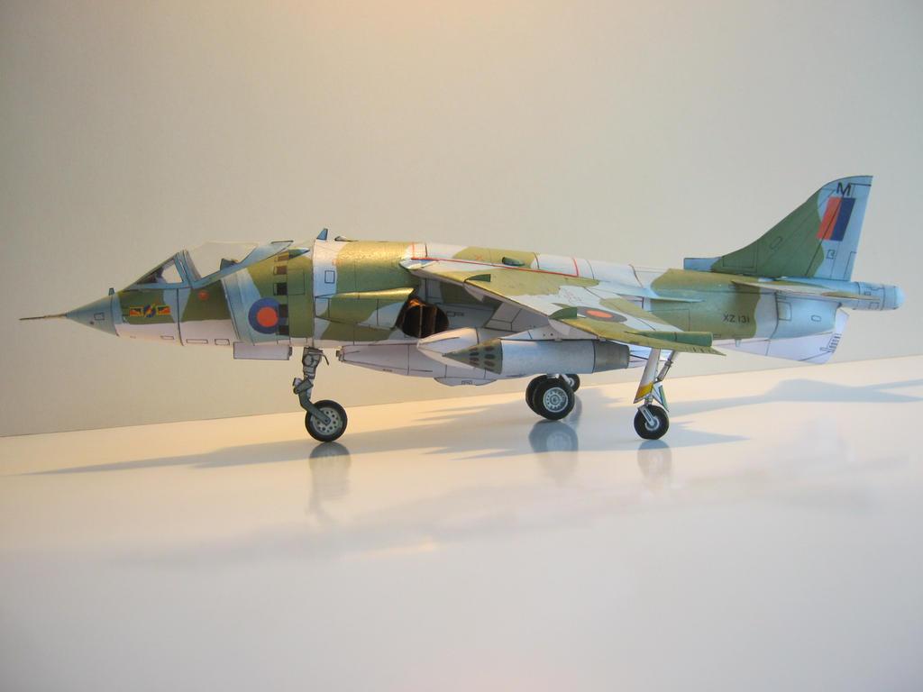 hawker Harrier MK1 by rummsfeld