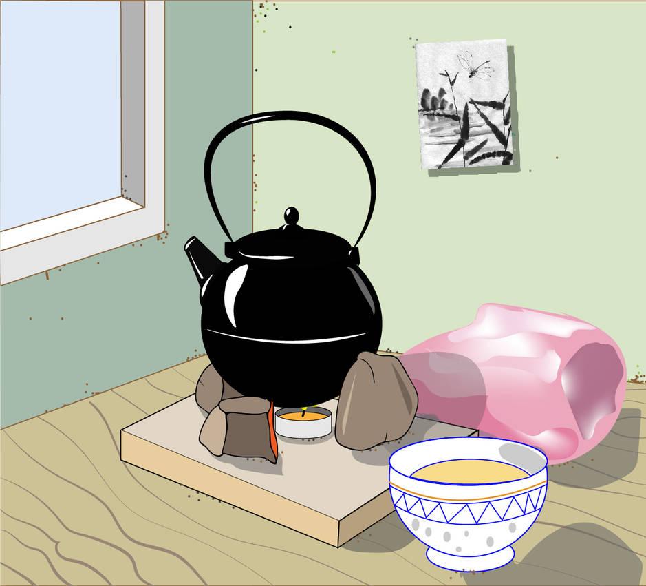 The Black Teapot