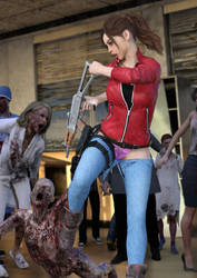 Claire Zombiefight