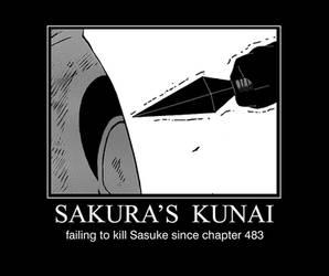 Sakura's Kunai of Doom