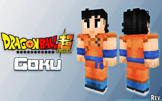 Minecraft Skin: Goku - Dragonball Super
