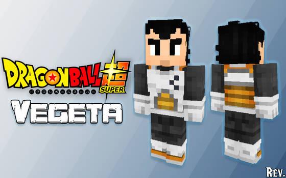Minecraft Skin: Vegeta - Dragonball Super