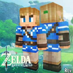 Minecraft Skin: Link (Breath of the Wild)