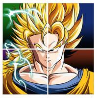 Goku's evolution