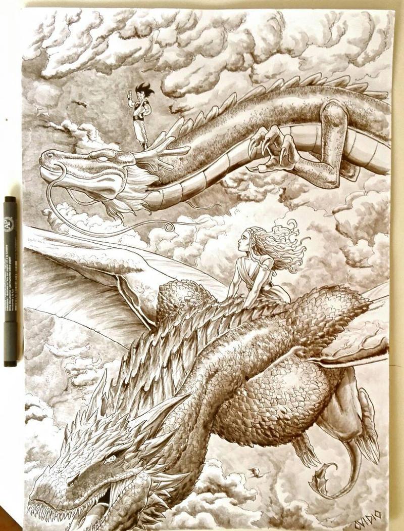Dragon of throne