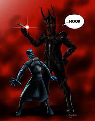 sauron vs nightking