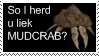 Morrowind stamp: Mudcrab by Shade-Duelist