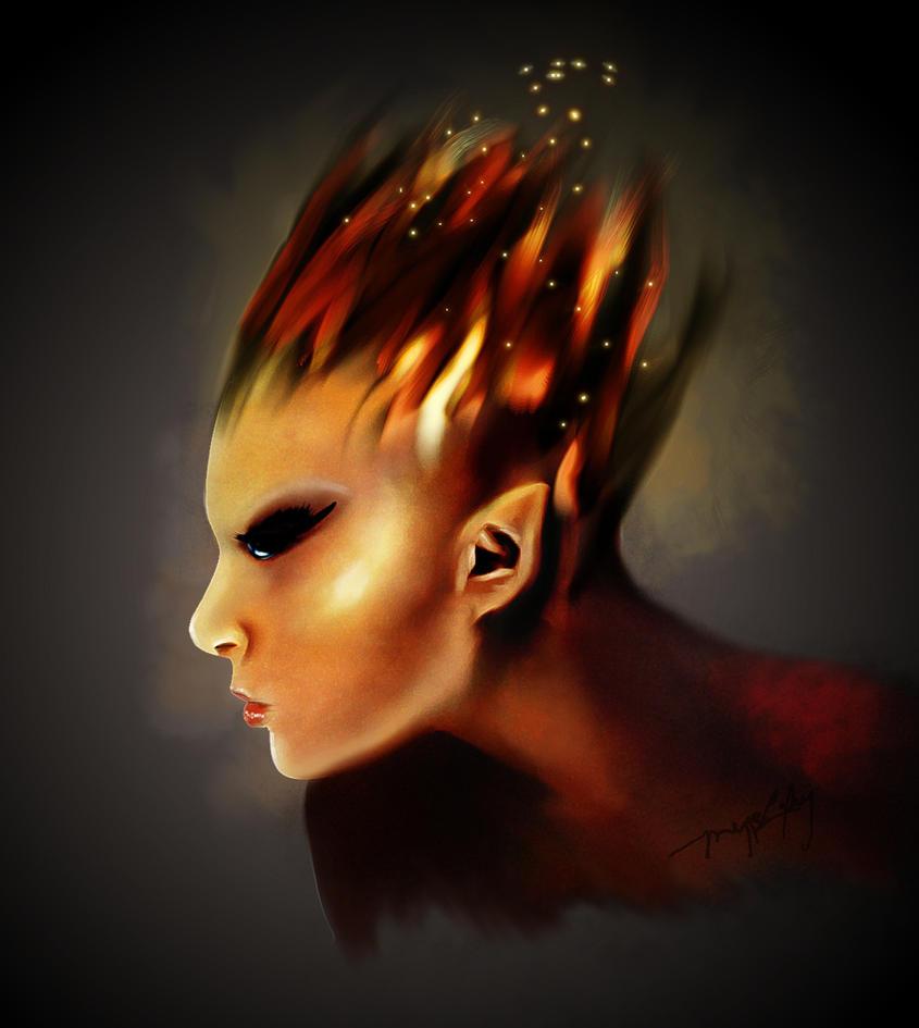 Fire Fay by MeggieLaFey