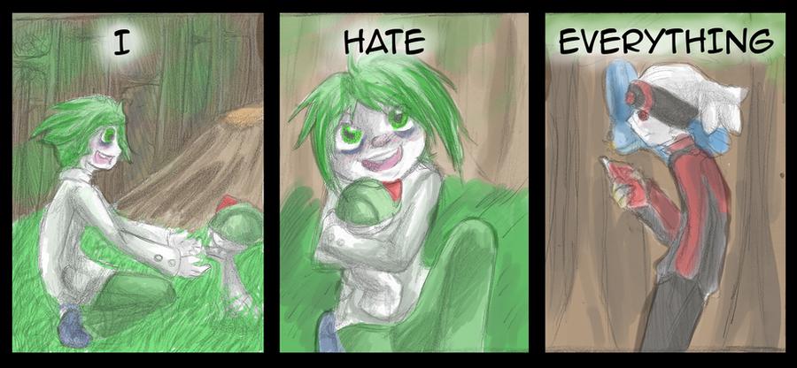 Hate - 11 by Draikinator
