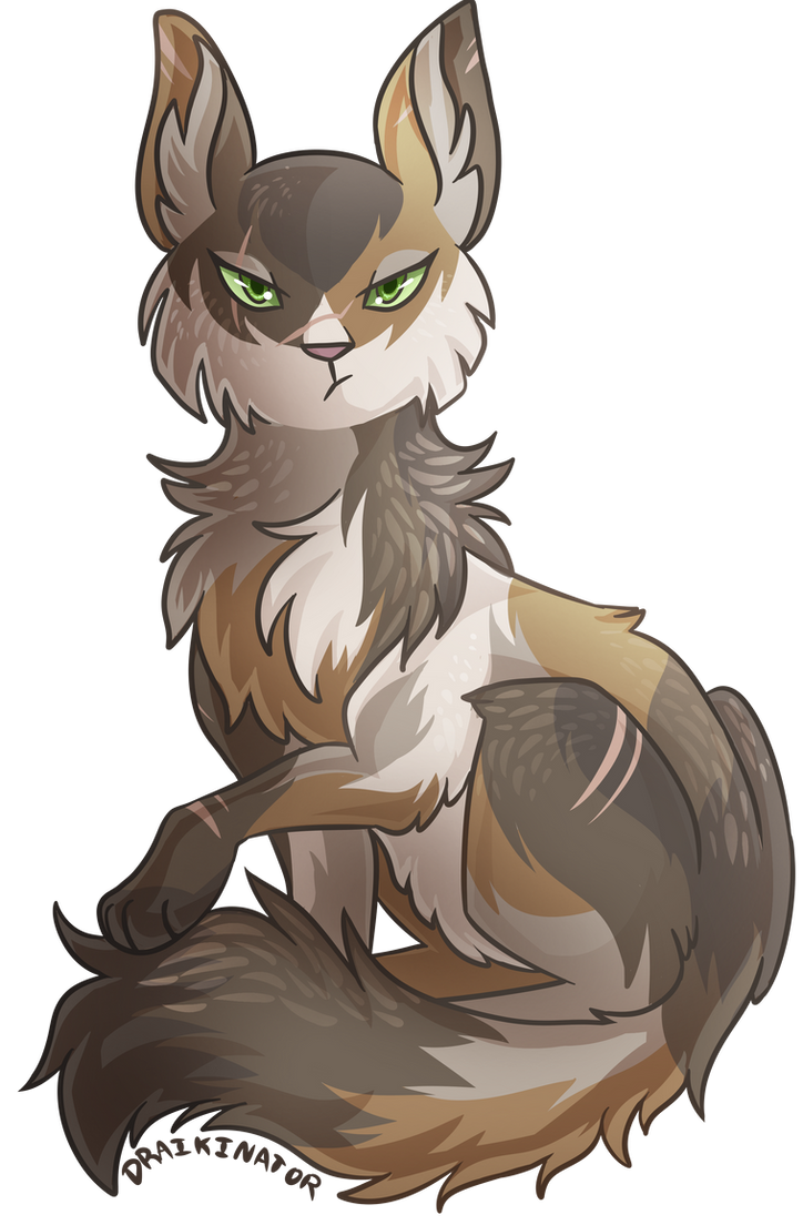 Tigerheart of ShadowClan, one of Tawnypelt and Rowanclaw's kits