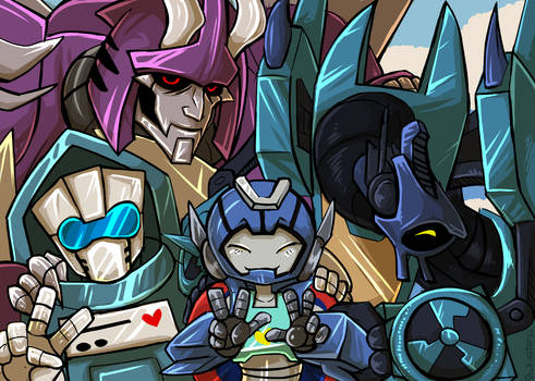 whirl jr can have three dads as a treat
