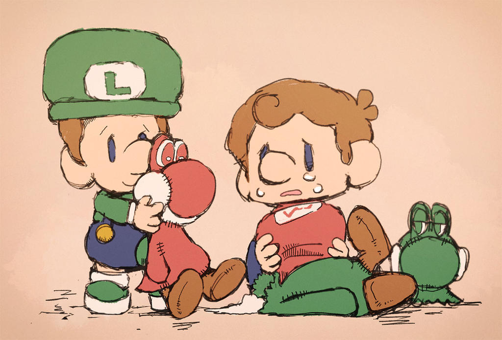 baby luigi and baby mario by uroad7 by uroad7