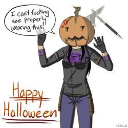 Happy Halloween 2018!  by L0ra2
