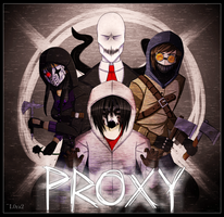 [Slenderverse] Proxy Allies +Speedpaint