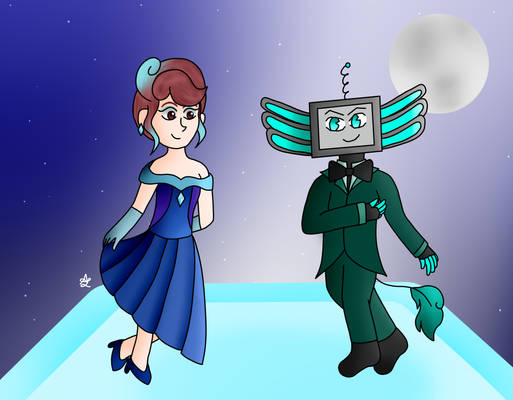 May I have this dance? (Art Trade)