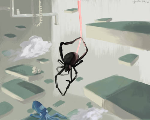 Dangle-Based Spider Thing