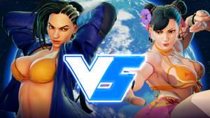 Laura VS Chun-Li