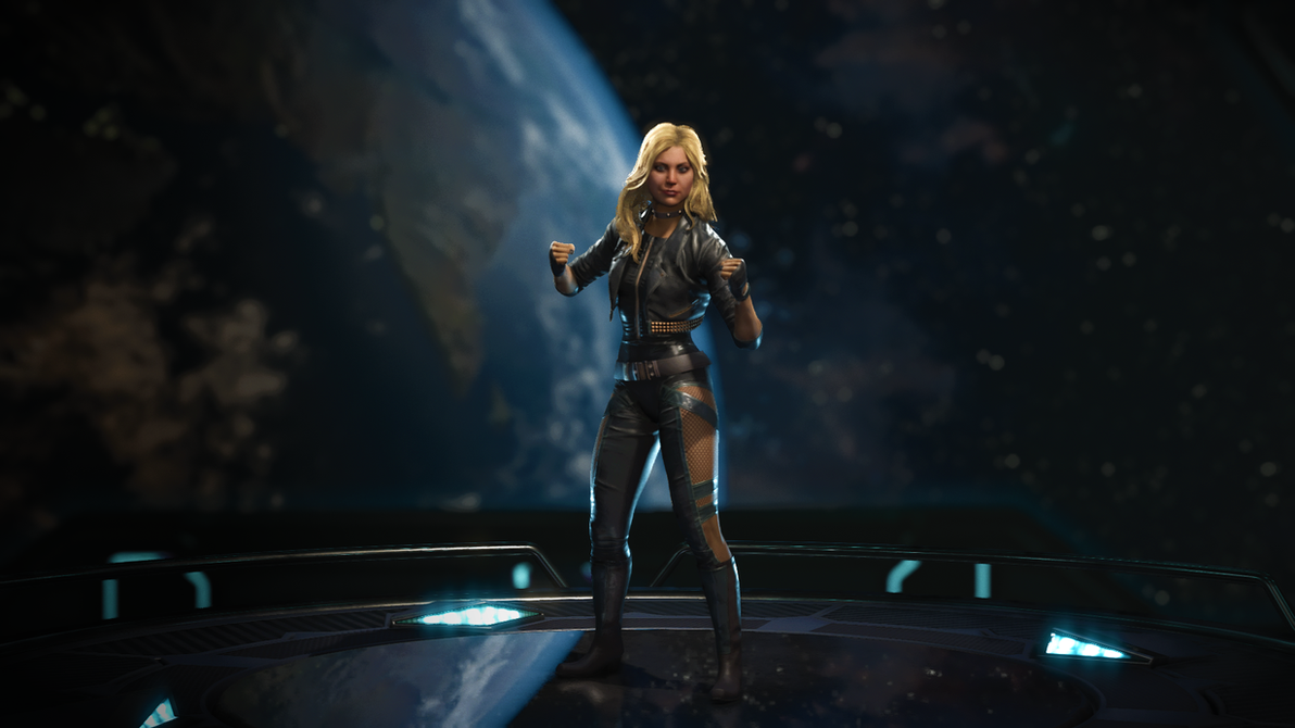 Black Canary by Egorspaiker