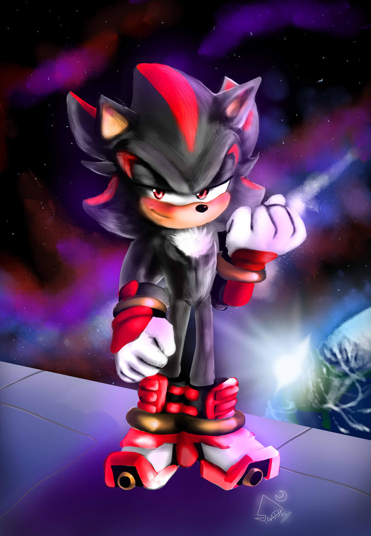 Shadow The Hedgehog Boom   by SaphireDabria