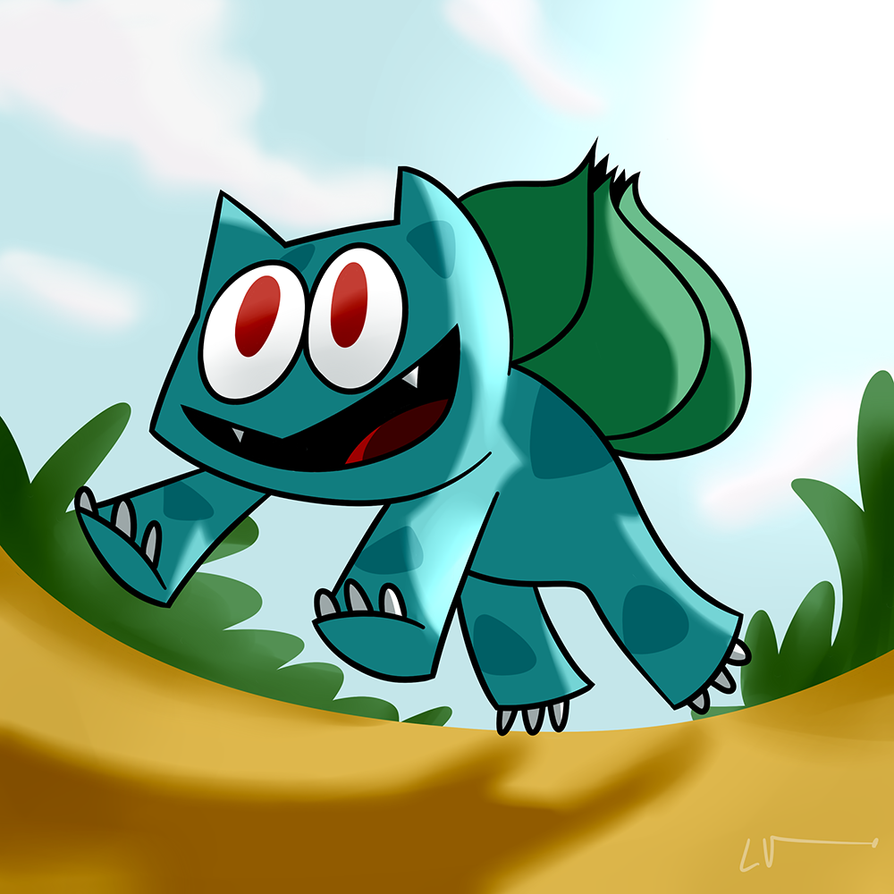 Bulbasaur - Chilean Pokedex Project by LuchoVolke
