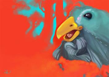 Bird Costume by kaarmeen