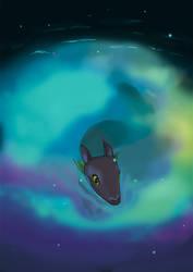 Swim in space by kaarmeen