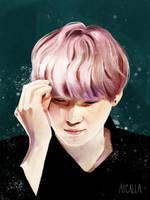 Yoongi 8 by Aycalla