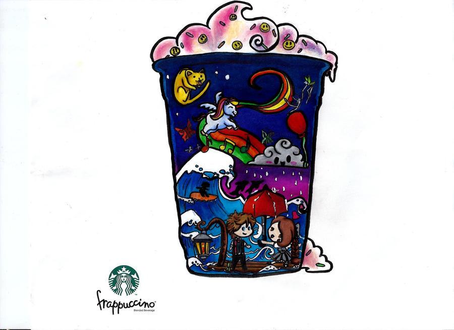 My Wonderland in a Cup by skelling-jen13