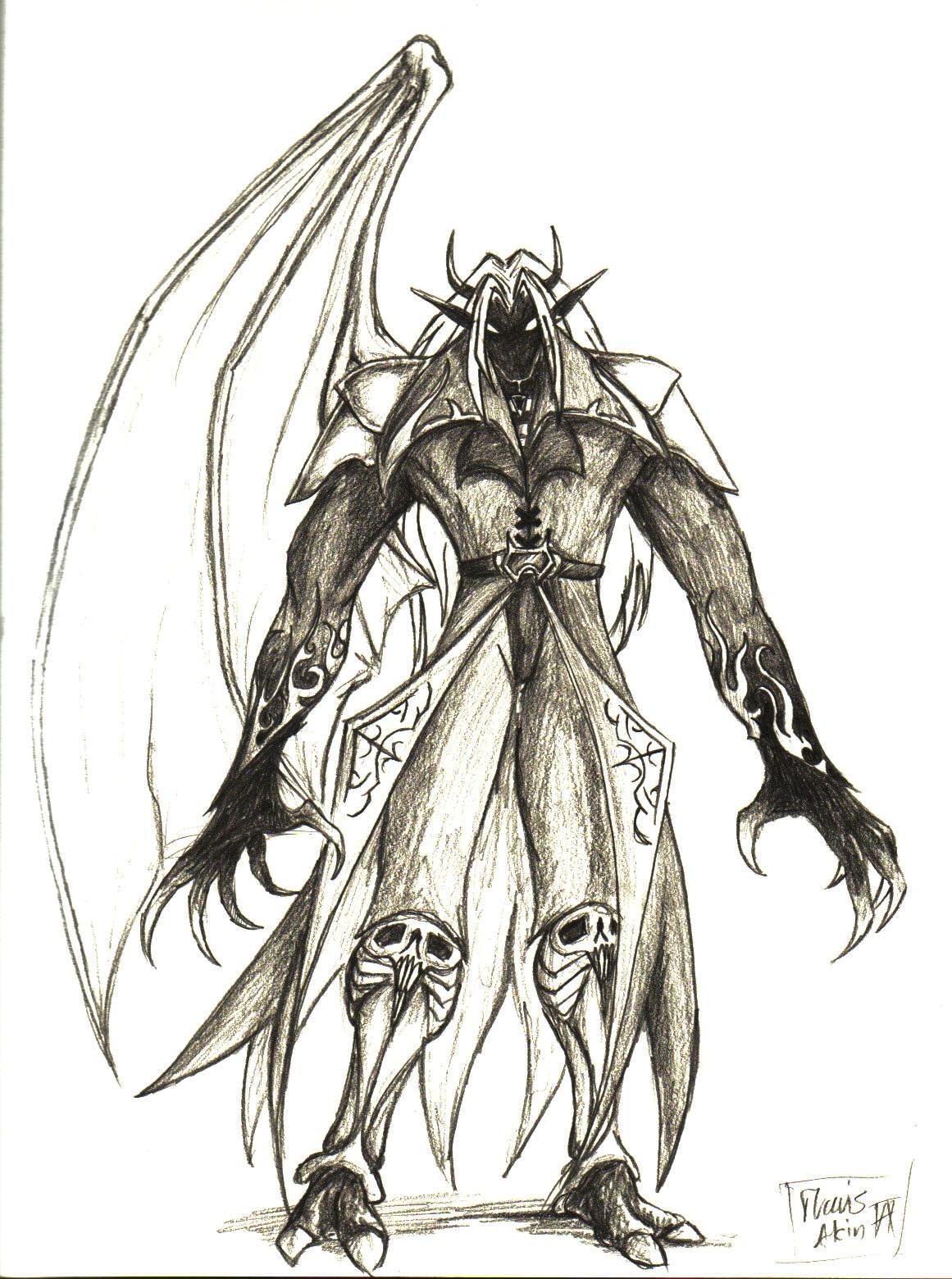 Demon Sephiroth by CurseReaper - 552.2KB