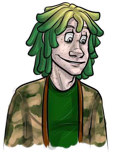 Cartoon Characters With Dreads : That one cool kid with dreadlocks by luciddreampop on
