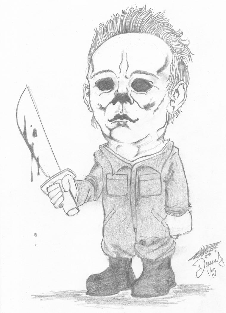 michael myers coloring pages - photo#24