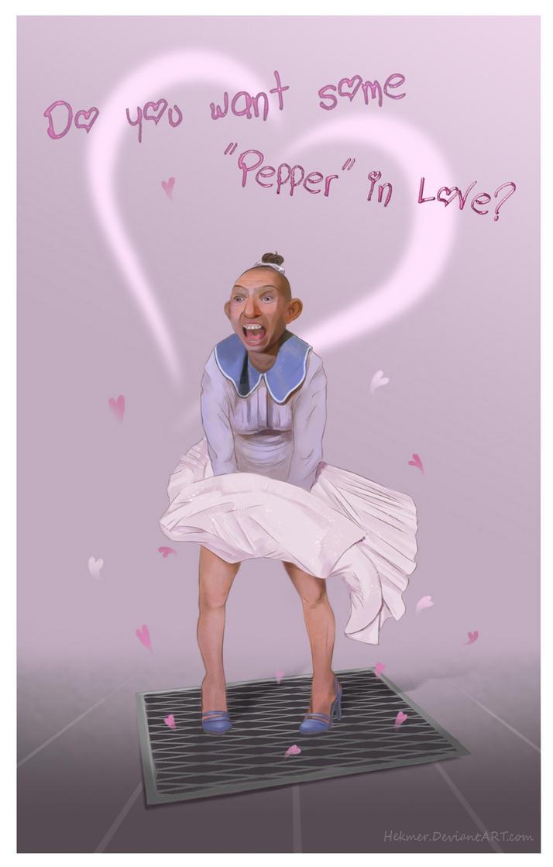 Valentine's Day Card (Pepper) by Hekmer