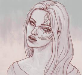 Study#24 sketch by kurumaiart