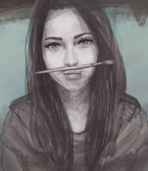 Bukchi portrait by kurumaiart