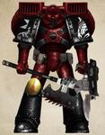 Blood Scorpions Assault Marine