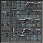 Gauss Weapon Storage