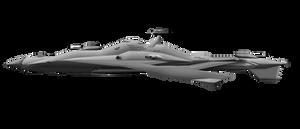 Airborne Battlecruiser by CommandoN