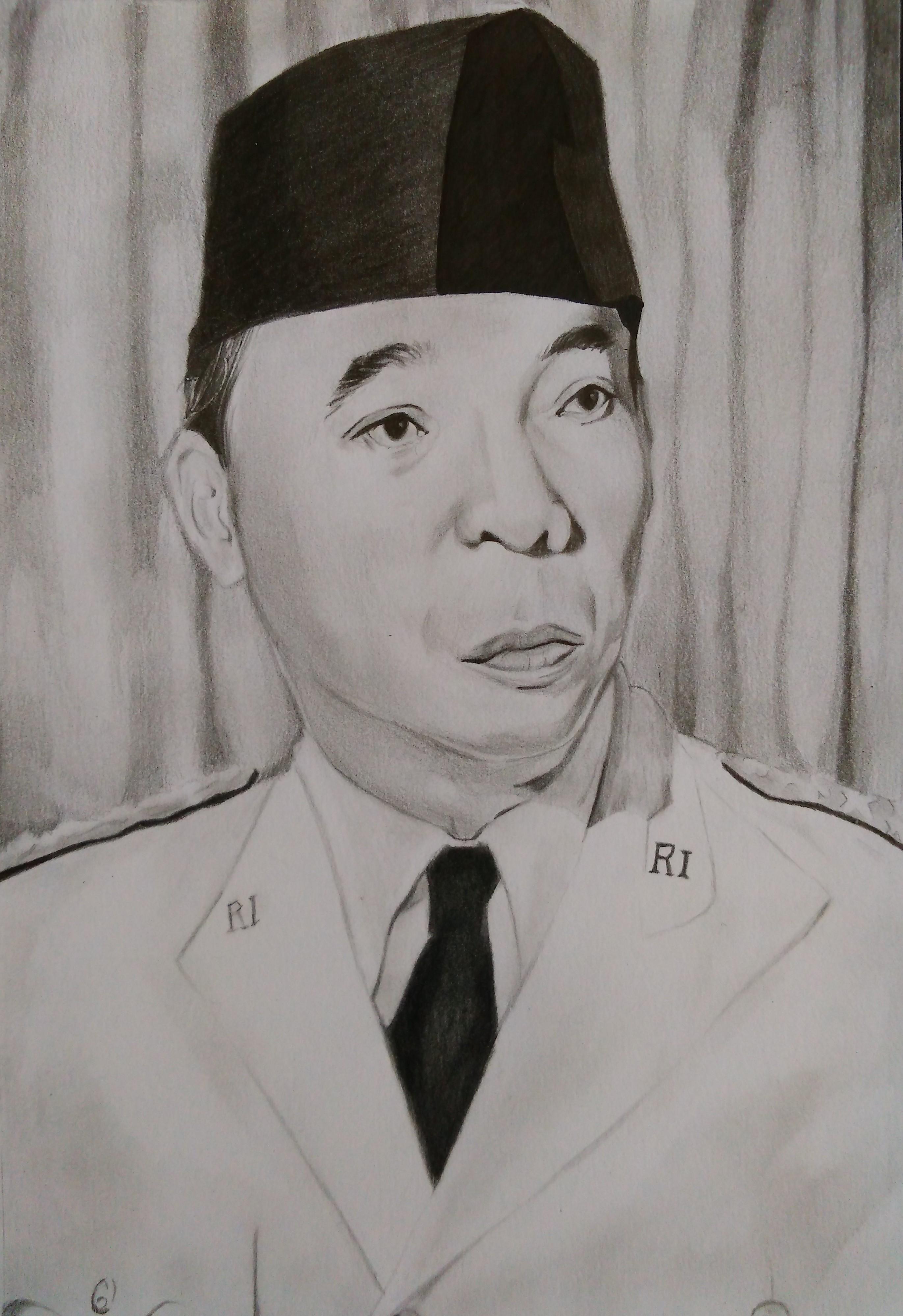 Ir Soekarno Presiden No 1 Indonesia By Seijiwan On Deviantart