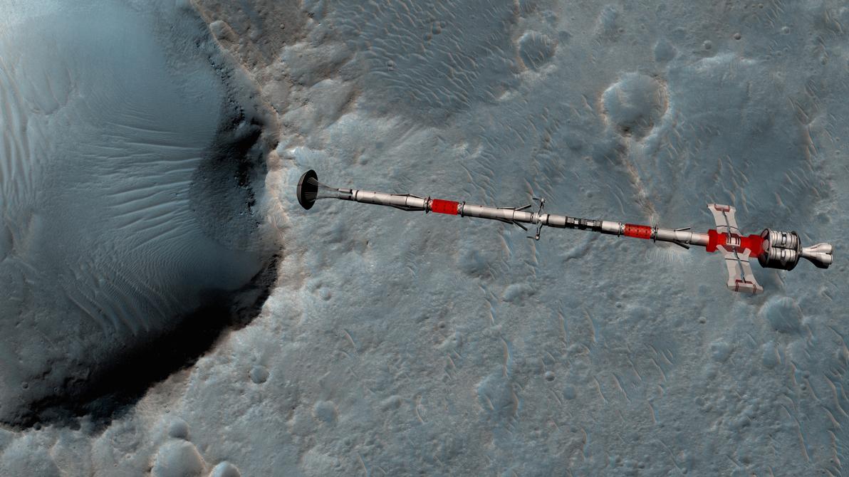 the last ELS, low mars orbit by fmilluminati