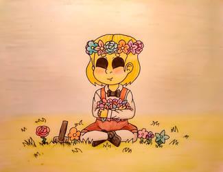 Dark Deception Children - Flowers