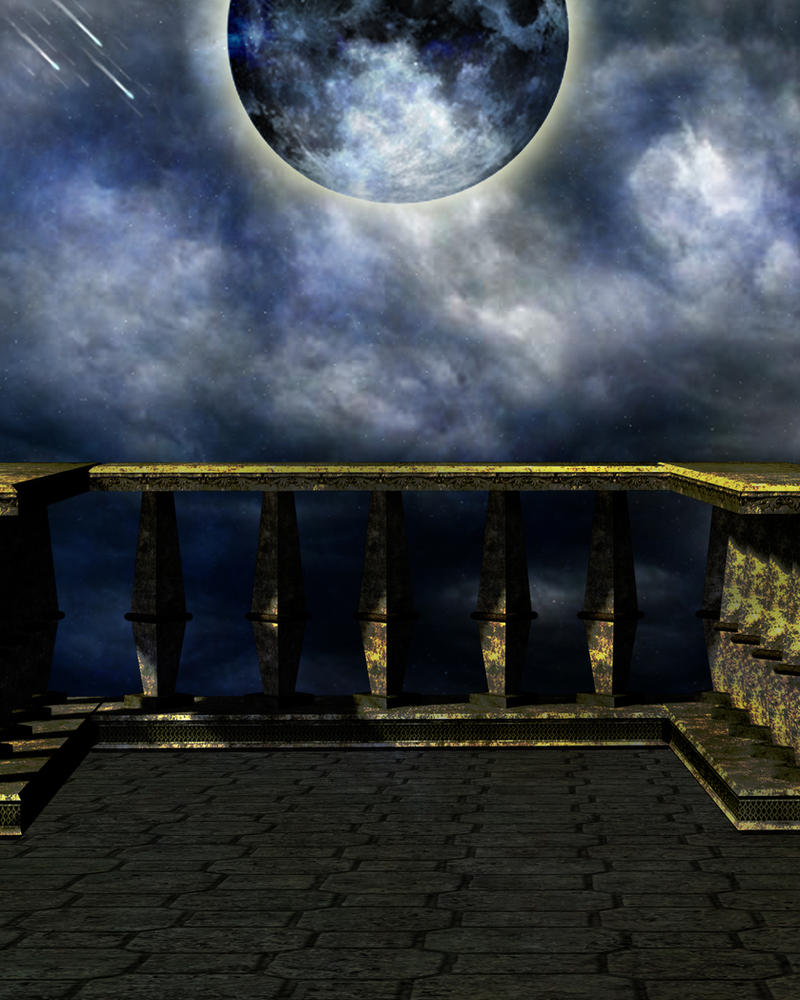 The balcony by moonglowlilly on deviantart for Balcony wallpaper