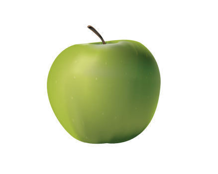 PNG GREEN APPLE