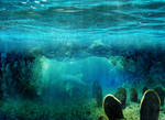 Ocean Bg Cave Stock