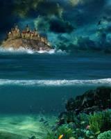 Ocean Bg Stock Kk by Moonglowlilly
