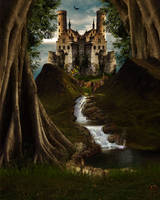 Stock Bg Fairytale by Moonglowlilly