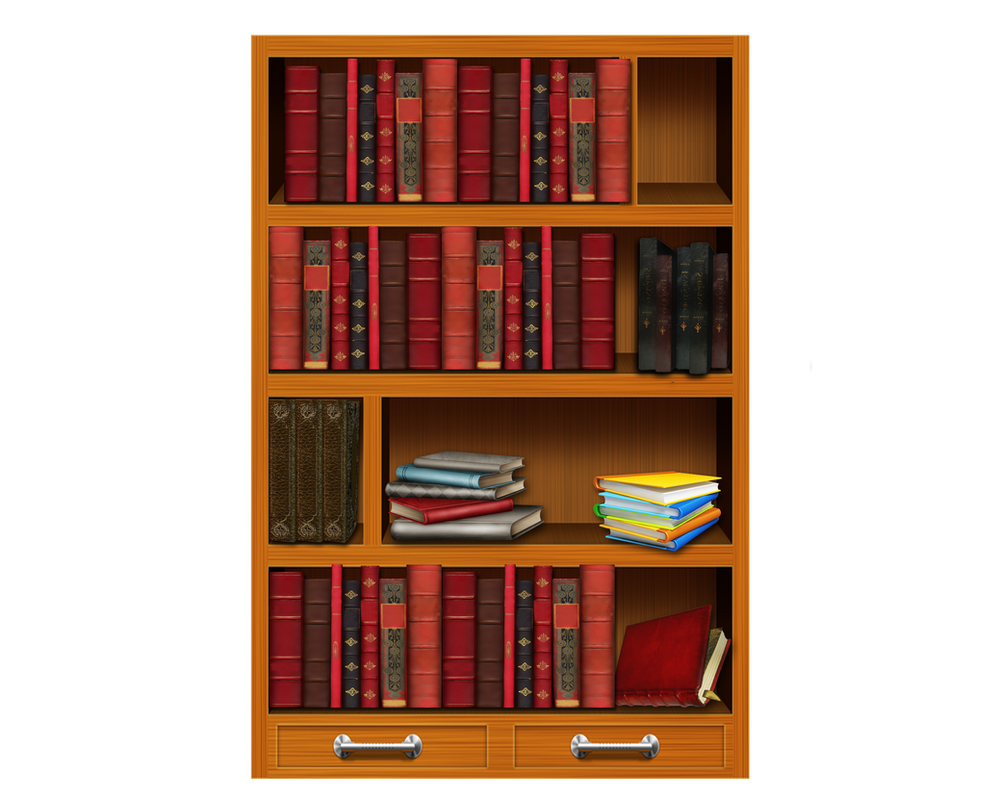 Png Bookshelf By Moonglowlilly On Deviantart