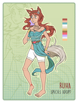 Ruha Species Adoptable [OPEN!] by Tanukid