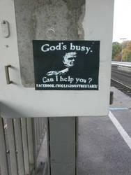 god's busy